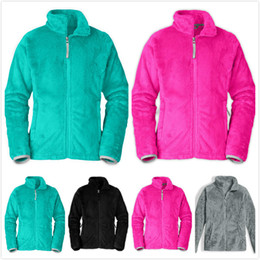 Girls flannel clothes online shopping - kids designer clothes boys winter soft fleece warm jackets coats fashion windproof baby girl clothes outdoor casual kids ski down hoodies