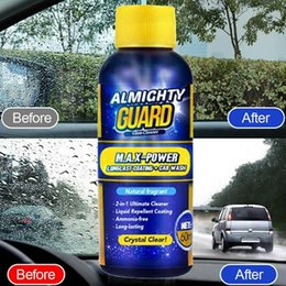 Wipers for glasses online shopping - 60ml Almighty Guard Car Glass Cleaner Multipurpose Stain Remover Solid Wiper Fine Seminoma For Home Window Cleaning Maintenance