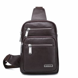 $enCountryForm.capitalKeyWord UK - Pop2019 Male Leather Genuine Baotou Layer Cowhide Single Shoulder Chest Diagonal Package Business Affairs Briefcase Man Bag Messenger