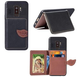 Red Light Card Australia - For Samsung Galaxy S9 Plus Wallet Case Cover PU Leather Light Weight Leaf Clip with Card Slot Money Pocket 97 Models for Option
