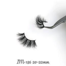 $enCountryForm.capitalKeyWord Australia - Hot-sale 18-25mm Long Individual Sexy Handmade False Eyelashes 3D&5D Mink Eyelashes Better Soft Thick Wispy Strip Reusable 100% mink fur