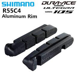 $enCountryForm.capitalKeyWord Australia - SHIMANO R55C4 v brake Road Bike Shoes Pads For Carbon Aluminium Alloy Rims Dura-Ace Ultegra 105 R8000 R7000