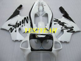 kawasaki zx7r bodywork 2019 - Motorcycle Fairing body kit for KAWASAKI Ninja ZX-7R ZX7R 1996 2003 ZX 7R 96 97 02 03 White black Fairings bodywork+gift