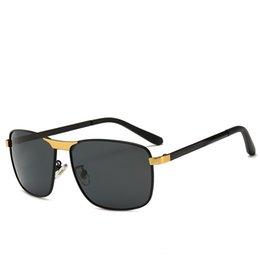 78a7f9aaa33 2019 New Men Sunglasses Luxury Brand Designer Square Retro Full Frame  Glasses High Quality UV Protection Lens Famous Mens Sunglasses