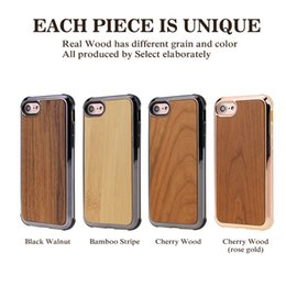 $enCountryForm.capitalKeyWord Australia - Luxury Real Wood High Quality Nature Carved Wooden Bamboo Wood Slim Hybrid Design Phone Case Cover For iPhone X XS 8 7 6S Samsung S9 Plus