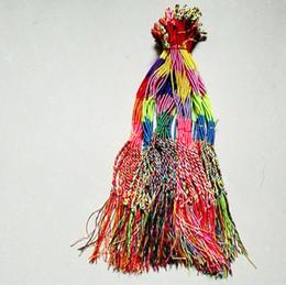 $enCountryForm.capitalKeyWord Australia - Bohemian Brazil Cheap Colorful Rainbow Handmade Weave Woven Braided Rope Thin String Strand Friendship Bracelet J190719
