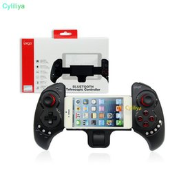 Joypad Wireless Game Controller Iphone Australia - IPEGA Gaming Controller PG-9023 Wireless Bluetooth Gamepad Android Phone Game Controller Joystick Joypad For Huawei Iphone Ipad Tablet PC