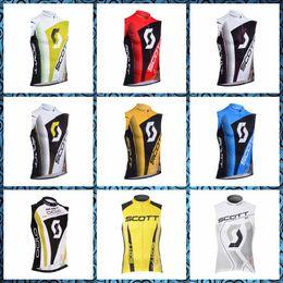 Scott Bikes Canada - 2019 New SCOTT team Cycling Sleeveless jersey Vest Summer men's Quick-Dry Clothing Wear With bike sportswear U51005