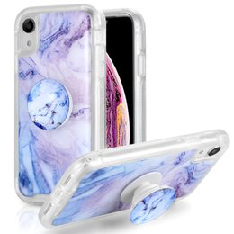 Bumper protection online shopping - Luxury Marble Full Body Protection Bumper Rugged Non Slip Cover Case with Holder For Iphone Xr Xs Max