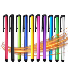 Mini Touch Screen Stylus Australia - 1000pcs lot Capacitive Touch Screen Stylus Pen For iPhone X XS Max iPad Air Mini Kindle Galaxy S10 Universal Tablet PC Smart Phone Pencil