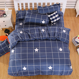 romantic queen size bedding NZ - Romantic Girl's decoration bedspread bedding set Twin Full Queen King Size Plaid Bedclothes Duvet Cover Bed Sheet Pillowcase
