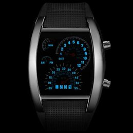 Men Digital Wrist Watches Australia - Fashion Men's Watch Unique LED Digital Watch Men Wrist Watch Electronic Sport Watches Clock relogio masculino erkek kol saati