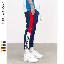 $enCountryForm.capitalKeyWord Australia - Spring Mens Sweatswear Fashion Designer Trousers Mann Hose Pants Printing Side Stripe Pockets Men Vintage Sweatpants Autumn Couples Outfit
