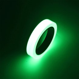 Glow Decor Australia - low in dark stickers 10M Luminous Tape Glow In The Dark Safety Stage Sticker Decorations Self-adhesive Home Decoration Tapes decor stic...