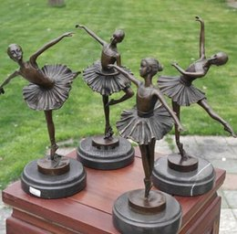 $enCountryForm.capitalKeyWord Australia - The copper sculpture art crafts ballet girl figure statue ornament ornaments birthday gift of music and dance