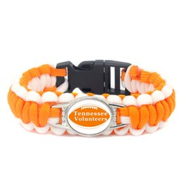 $enCountryForm.capitalKeyWord Australia - American tennessee Athletics football basketball baseball teams survival paracord bracelets bangles for fans gifts