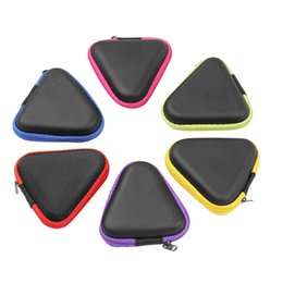 $enCountryForm.capitalKeyWord Australia - Triangle Multi color Fidget Spinner Pouch Hand Spinner Toys Bluetooth Headset Storage Bags Compressive Container Portable Cases Hot Sale