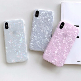 sequin phone covers 2019 - Bling Shell Soft TPU Case For Iphone XS MAX X 10 8 7 6 Plus Luxury Colorful Sequin Confetti Flake Crystal Fashion Mobile