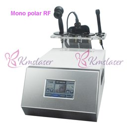 Discount facial vacuum suction - Monopolar RF facial lifting strong VACUUM SUCTION Radio Frequency wrinkle removal Skin rejuvenation machine beauty care