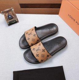 b22 baratos Melhor Homens Mulheres Sandals Deslize sapatos de luxo Moda Verão larga e plana Slippery Sandals BGUCCILVLouisvuitton em Promoção