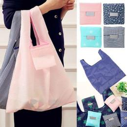 $enCountryForm.capitalKeyWord Australia - Foldable Shopping Handbags Grocery Bags Big Capacity Reusable Supermarket Tote Shopping Bags