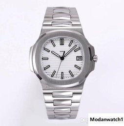 brass items NZ - silver case and band white dial hot selling item classic design men automatic watch made of 316L stainless steel sapphire glass best quality