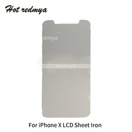 Backplate iphone online shopping - New LCD Digitizer Metal Plate Shield For iPhone X LCD Screen Iron Plate Backplate Protector Cover Replacement Repair Parts
