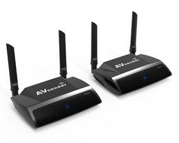 TransmiTTer for Tv online shopping - 2019 P GHz Wireless HDMI Transmitter Receiver Remote Control AV Sender Receiver HDMI Extender for STB TV Box LCD Monitor PAT