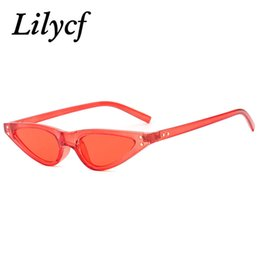 Ladies High Quality Designer Sunglasses Australia - Triangular Cat's Eye Sunglasses Ladies Retro Trend Small Square Personality Women's Brand Designer Sunglasses High Quality UV400