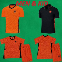kids uniform shirts Canada - 20 21 Holland Soccer Jerseys National Team Football Jersey 2020 MEMPHIS DE JONG VAN DIJK VIRGIL Football Shirts Mens Kids Uniforms Kits
