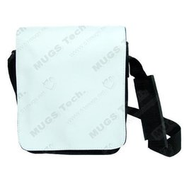 China 10pcs lot Sublimation Subblank DIY Bag -Small Print Shoulder Bag Messenger Sublimation Blank Canvas cheap cover cell blank suppliers