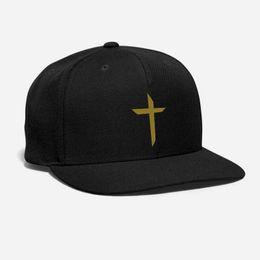 $enCountryForm.capitalKeyWord UK - Simple Brown Cross Hat Embroidered Customized Messiah God Christianity jesus medieval pray love Unisex Adjustable Snapback hat