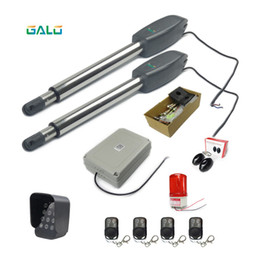 gate openers Australia - AUTO Actuator Automation swing Door gate opener motor double engine kits for Separated on both sides home farm gates
