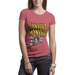 61f8dac17142 Lynyrd Skynyrd Eagle white t shirt,shirts,t shirts,tee shirts shirt design  personalised crazy band athletic t shirt