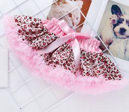 $enCountryForm.capitalKeyWord Australia - New Infant Baby Girls Lace Dots Leopard Skirt Kids Princess Bubble Skirt Pleated Tutu Skirts Short Dress 14453