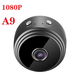 wifi outdoor sport camera 2020 - A9 Mini Camera Wifi 1080p IP camera Outdoor IR Night Vision Cam Wireless wifi Small Car Camcorder Motion Detection HD Sp