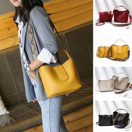 $enCountryForm.capitalKeyWord Australia - Osmond Women Bags Set 2 Pcs Leather Handbag Women Tote Bag Ladies Black Shoulder Bag for 2019 Messenger Sac a Main