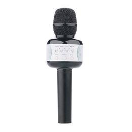 $enCountryForm.capitalKeyWord Australia - Karaoke Microphone Wireless Bluetooth Speaker Portable Music Player Support Android iOS with Disco Lights KTV Sing black
