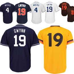 0d900cbfd 2019 New baseball jerseys San Diego Padres Jerseys Hot Sale 19 Tony Gwynn  Jerseys 4 Wil Meyers