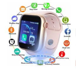 Опт Новейший Z6 Smartwatch для Apple Iphone Smart Watch Bluetooth 3.0 часы с камерой поддерживает SIM-карту TF для Android-смартфона