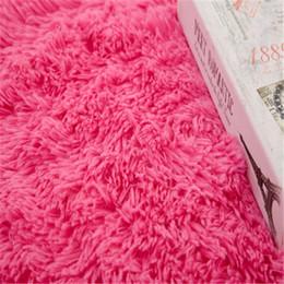 Long Floor Mats Australia - 2019 Soft Artificial Floor Carpets Rug White Bedroom Mat Long Warm Hairy Carpet Seat Home Textil Decor Floor Rugs for Living Room Hotel H127