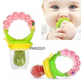 infant feeding chairs UK - Baby Fresh Baby Feeding Food Feeder Safety Infant Pacifiers Fresh Fruit Nibbler Rotating Mills Chew Fruit Nipples Grinder Feeding Toys