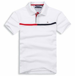 Wholesale American Classic flag style POLO design men s casual printing polo shirt cotton store activity low price JWK