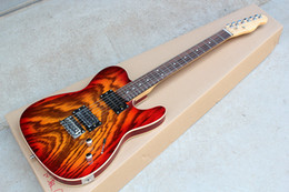 Discount zebra electric guitar - Factory CS Color Electric Guitar with Zebra-stripe Veneer,Rosewood Fretboard,HH Pickups,Chrome Hardwares,offering custom