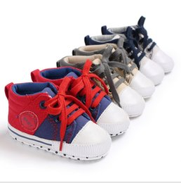 canvas shoes for toddlers Australia - Unisex Toddler boy First Walkers Shoes fashion newborn baby Canvas shoeslovely Autumn Winter Kids Footwear for gift Top Quality