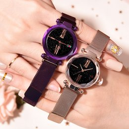 $enCountryForm.capitalKeyWord Australia - Quartz Watch Fashion Star Girl Watch Simple Temperament Mesh Belt Watch