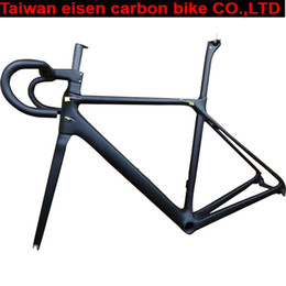 Carbon Fibre Road Racing Bicycles Australia - 2019 SLX T1000 TOP carbon road bike frame bicycle racing bike frameset + handlebar disc brake carbon fibre frame can XDB shipping
