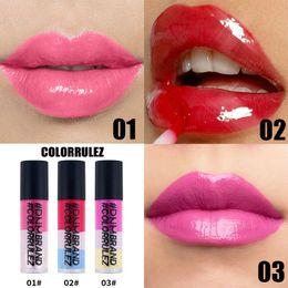 $enCountryForm.capitalKeyWord Australia - Love Bety Tricolor Ice Cream Cream Cosmetics Lip Gloss Matte Lipstick Matte Moisturizer Flower Lipstick Gifts for Women Make Up