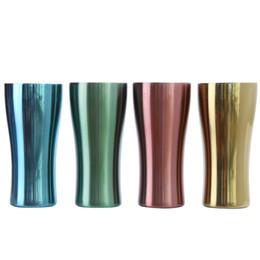 $enCountryForm.capitalKeyWord UK - Stainless Steel Mugs Metal Travel Mugs Single Layer Colorful Cups Outdoor Camping Drinking Coffee Tea Beer Mug
