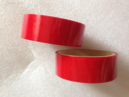 $enCountryForm.capitalKeyWord Australia - Wholesale-Free shipping design tamper evident packing tape adhesive security seal anti-counterfeit label transfer VOID OPEN 30mm*15m RED